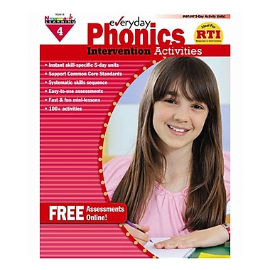 Newmark Learning Everyday Phonics Intervention Activities Book, Grade 4