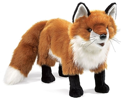 Folkmanis® Red Fox Hand Puppet, 11