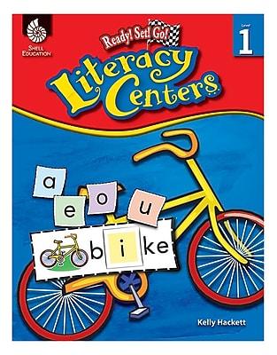 Shell Education Ready! Set! Go! Literacy Center Book; Grade 1