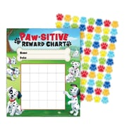 "Eureka® 101 Dalmatians® Mini Reward Chart, Paw-sitive, 5"" x 6"" (EU-837037)"