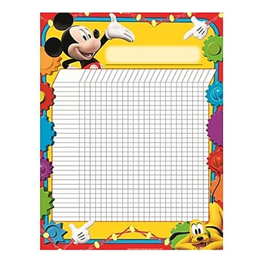 Eureka® Large Incentive Chart Poster, Mickey Mouse Clubhouse, 17