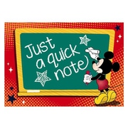 "Eureka® 4"" x 6"" Post Card, Mickey Teacher"