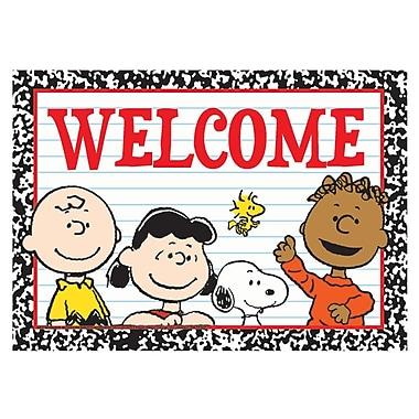 Eureka® Teacher Post Card, Peanuts Welcome, 4