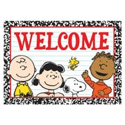 "Eureka® 4"" x 6"" Teacher Post Card, Peanuts Welcome"