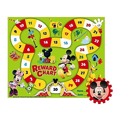 Eureka® Mickey Park Mini Reward Chart, Mickey Mouse Clubhouse, 5