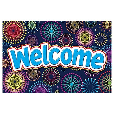 Teacher Created Resources Welcome Post Card, Fireworks, 4