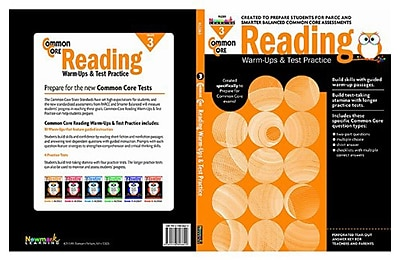 Reading Warm-Ups and Test Practice by Newmark Learning Grade 3