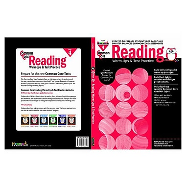 Reading Warm-Ups and Test Practice by Newmark Learning Grade 4
