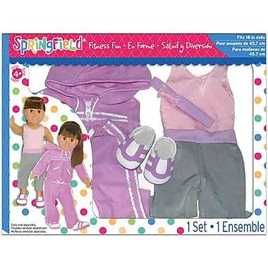 Fibre Craft Springfield Collection Fitness Fun Doll Clothes Set 18