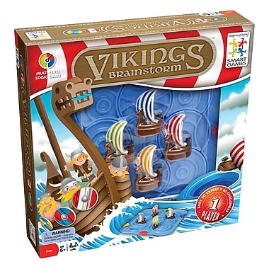 Smart Toys And Games Vikings Brainstorm Puzzle Game