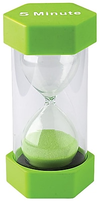 Teacher Created Resources 5 Minute Sand Timer, Large