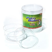 Fun Science Extra Deep Petri Dish, 4/Pack (FI-PLG2)