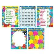 Trend Enterprises® Classroom Basics Sea Buddies™ Learning Charts Combo Pack, Grade PreK - 3rd