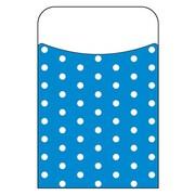Trend Enterprises® Polka Dots Blue Terrific Pocket, 40/Pack