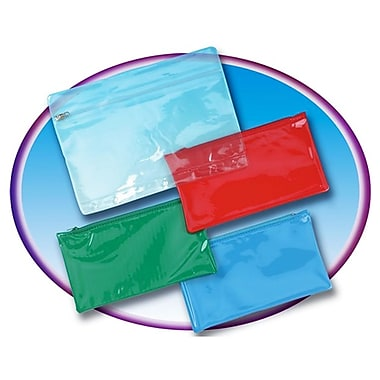 Charles Leonard Pencil Pouch with Ziplock Closure, 12/Pack (CHL76370)