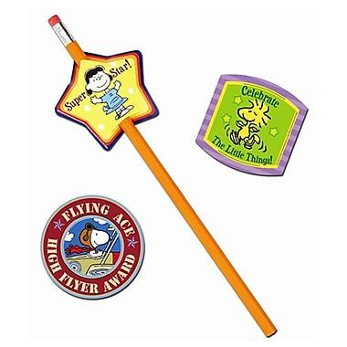 Eureka® Lenticular Pencil Topper, Peanuts®, 24/Pack
