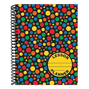 Eureka® Lesson Plan & Record Book, Dots on Black