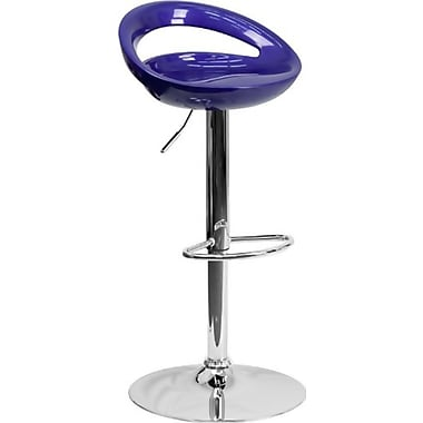 Flash Furniture 38.75'' Contemporary Adjustable Height Bar Stool, Blue (2CHTC31062BL)