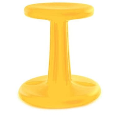 Kore™ Kids Wobble Plastic Chair; Yellow
