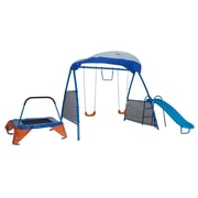 Ironkids Steel & Plastic Premier 100 Fitness Playground Blue