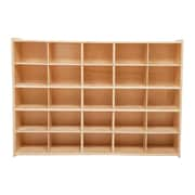 Wood Designs™ Contender™ Fully Assembled 25 Tray Storage With Casters, Baltic Birch