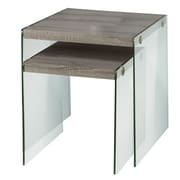 Monarch Nesting Table End Dark Taupe