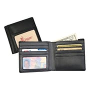 Royce Leather  HIPSTER WALLET Black