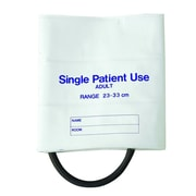 Briggs Healthcare Single-Patient Use Blood Pressure Cuffs, Single-Tube White