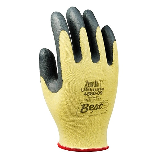 Showa Best Glove® Zorb-IT® Ultimate 4560 Cut Resistant Gloves, Size Group 7