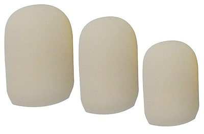 Briggs Healthcare Cushioned Foam Tip Toe Caps Small