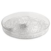 InterDesign® Rain Cosmetic Spinner, Clear