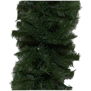 """Vickerman 50' x 10"""" Canadian Pine Garland With 200 Clear Mini Lights and 1320 PVC Tips"""