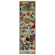 RoomMates Marvel Comic Panel Spiderman Classic Peel and Stick Giant Wall Decal