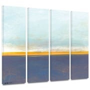 """ArtWall """"Big Sky Country I"""" Gallery Wrapped Canvas Art By Jan Weiss, 24"""" x 36"""""""