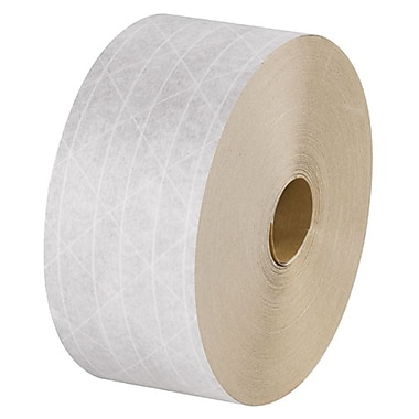 Intertape Reinforced Tapes, White, 450', 10 Rolls