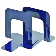 """MMF Industries™ STEELMASTER® Soho Collection 5"""" Economy Bookend, Blue"""