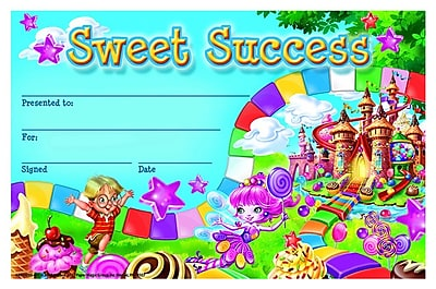 Eureka® Candy Land Sweet Success Recognition Award