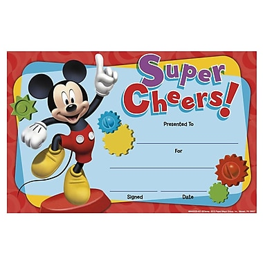 Eureka® Mickey Mouse Clubhouse Super Cheers Recognition Award (EU-844002)