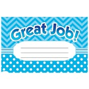 Teacher Created Resources Chevron Great Job Award, 25/Pack