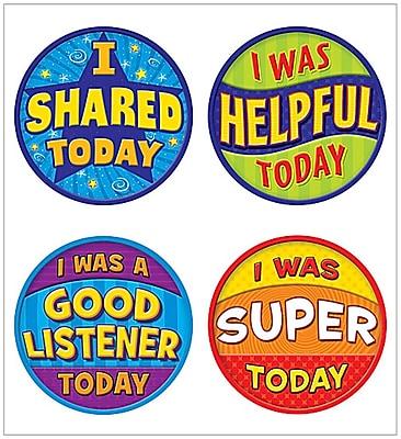 Teacher Created Resources Good Behavior Wear 'Em Badges (TCR5471)
