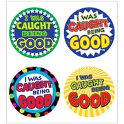 """Teacher Created Resources """"I Was Caught Being Good"""" Wear 'Em Badge (TCR5469)"""