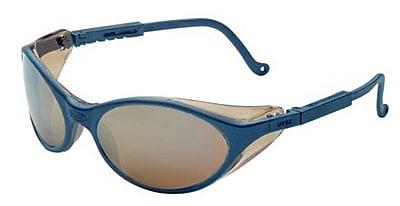 Bandit Ultra-dura® Anti-Scratch Hard Coat Wraparound Safety Glass, Gold Mirror/Slate Blue