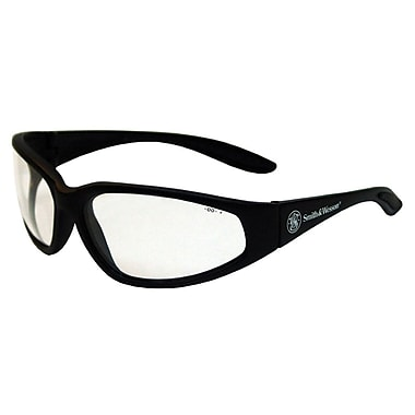 Jackson Safety® Smith and Wesson™ 3011699 Safety Glasses, Clear/Black
