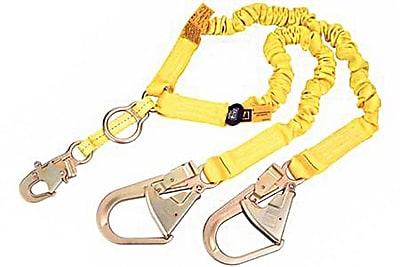 DBI/Sala® ShockWave2™ 6' 100% Tie-Off Tubular Web Stretch Shock Absorbing Lanyard, Yellow