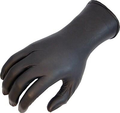 Showa® N-DEX® NightHawk® 7700 Nitrile Powder Free Disposable Gloves, Large