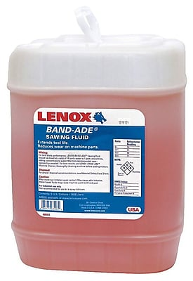 Band-Ade® Semi Synthetic Saw Fluid, 5 gal Pail