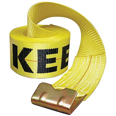 Keeper® 30' Winch Strap With Flat Hooks (130-04926)
