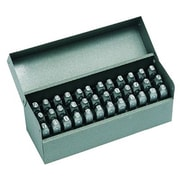 C.H. Hanson® 36 Pieces Standard Steel Hand Stamp Set, 1/4""