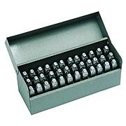 """C.H. Hanson® 36 Pieces Standard Steel Hand Stamp Set, 1/4"""""""