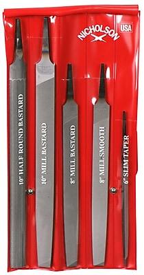 Nicholson® 5 Piece General Purpose File Kit